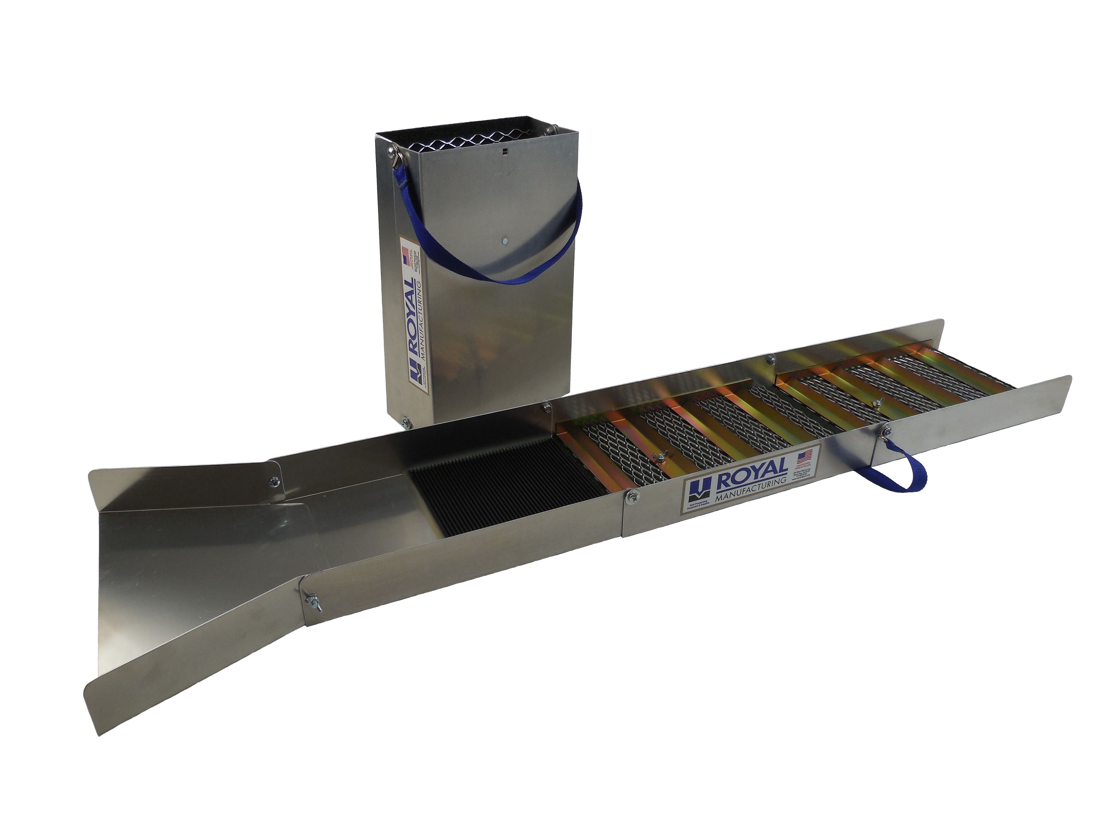 Sluice Boxes Amp Stands Royal Manufacturing Ind